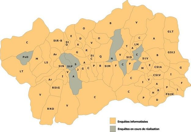 Cartina Muta Della Valle D Aosta.Indagine Toponomastica In Valle D Aosta